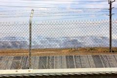 Fuoco della miniera di carbone in Australia Fotografia Stock Libera da Diritti