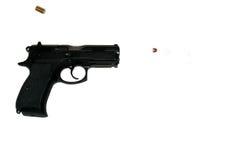 Fuoco della pistola fotografia stock
