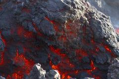 Fuoco della roccia Immagini Stock Libere da Diritti
