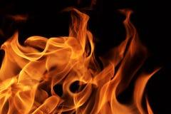 Fuoco delle fiamme immagini stock