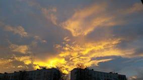 Fuoco di Sun Fotografia Stock