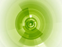 Fuoco digitale di verde di calce Fotografie Stock Libere da Diritti