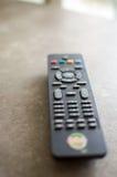 Fuoco a distanza della TV su volume immagine stock libera da diritti