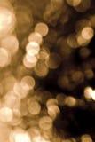 Fuoco dorato Fotografia Stock