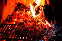 Fuoco e fiamme Immagini Stock