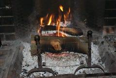Fuoco e fiamme Fotografie Stock Libere da Diritti