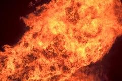 Fuoco e fiamme Immagine Stock