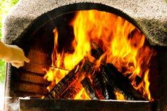 Fuoco e fiamme Fotografia Stock Libera da Diritti