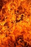 Fuoco infuriantesi - molte fiamme Immagini Stock Libere da Diritti