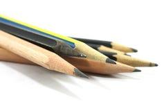 Fuoco molle, matita di legno Fotografia Stock Libera da Diritti
