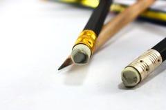 Fuoco molle, matita di legno Fotografia Stock