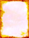 Fuoco rosso giallo Immagini Stock