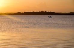 Fuori da pesca Fotografie Stock