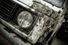 Fuori dall'automobile della strada Fotografia Stock Libera da Diritti