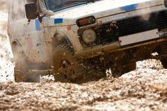 Fuori dall'emozione roading Fotografia Stock