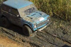 Fuori dall'emozione roading Fotografie Stock