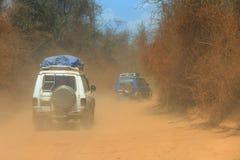 Fuori dalla strada Madagascar Immagine Stock Libera da Diritti