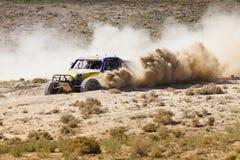 Fuori dalla strada Nevada Turning di corsa con errori Immagine Stock Libera da Diritti