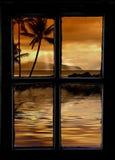 Fuori della mia finestra Fotografia Stock Libera da Diritti