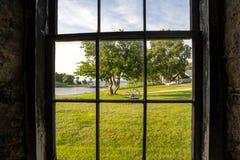 Fuori la finestra Fotografia Stock