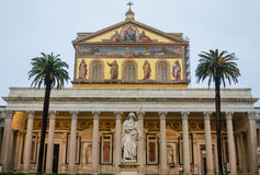 Fuori le Мураа San Paolo di базилики Стоковые Изображения