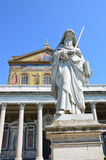 Fuori Le Mur Basilika Papale San Paolo Stockfoto