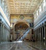 Fuori le Mura de San Paolo de basilique Photos stock
