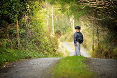 Fuori per una passeggiata Fotografie Stock Libere da Diritti