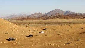 Fuori strada nell'Oman Immagine Stock Libera da Diritti