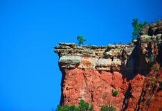 Fuori su una sporgenza! (una sporgenza della roccia!) Immagine Stock Libera da Diritti