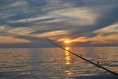 Fuori sul lago Immagini Stock