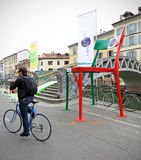 Fuorisalone at Navigli Design District Royalty Free Stock Images