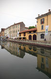 Fuorisalone at Navigli Design District Stock Photo