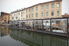 Fuorisalone at Navigli Design District Stock Photography