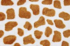 Fur animal print. Close-up of furry animal print Stock Photography