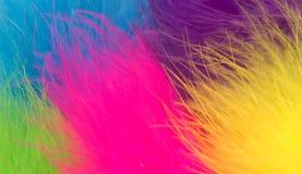 Fur Background. Coloured fake fur Stock Photos