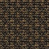 Fur background mosaic Royalty Free Stock Image