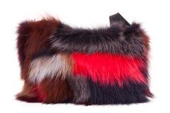 Fur bag Royalty Free Stock Images
