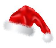 Fur-cap for Santa Claus Royalty Free Stock Image