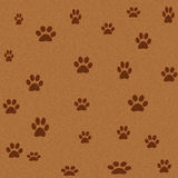 Fur carpet. Paw printed computer illustrated carpet Royalty Free Stock Photo