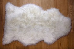 Fur carpet Stock Photo