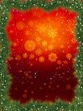 Fur christmas frame. EPS 8 Royalty Free Stock Image