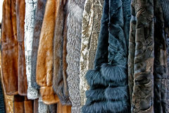 Fur Clothes 2 Royalty Free Stock Photography