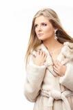 Fur coat Stock Images