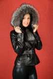 Fur coat Stock Photos