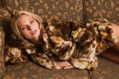 Fur coat Royalty Free Stock Photos