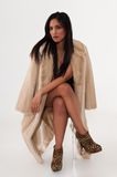 Fur coat Royalty Free Stock Photo