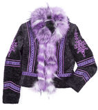 Fur coat Royalty Free Stock Photography