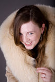 Fur coat Royalty Free Stock Photo