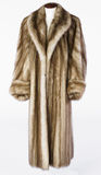 Fur Coat Royalty Free Stock Images